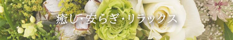 癒し・安らぎを贈るお花のギフト
