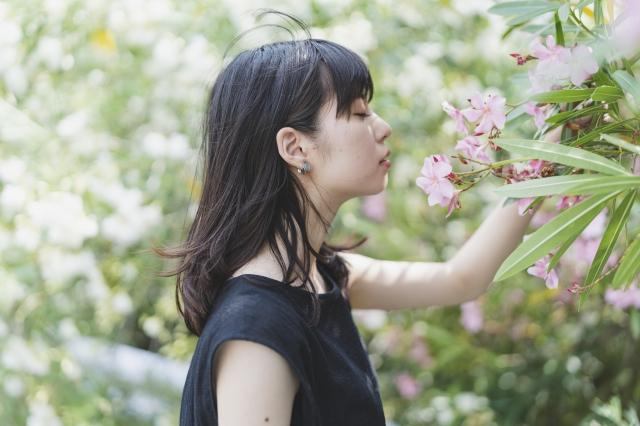 生花の香り